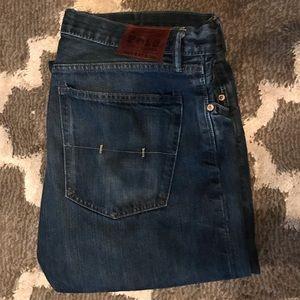 Men's Classic 867 36x34 Polo Jeans dark wash